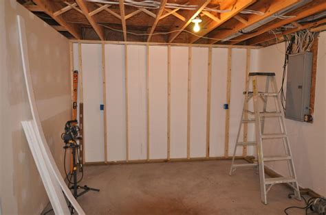 Ideas For Finishing Concrete Basement Walls Basement Wall Finishing Panels Spotlats