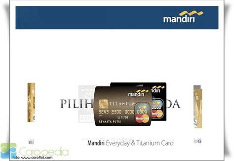 membuat rekening bank mandiri syariah mandiri kartu kredit promo kartu kredit bank mandiri