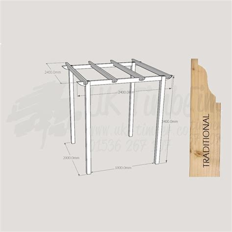buy pergola kit standard pergola kit 2400mm x 2400mm traditional buy