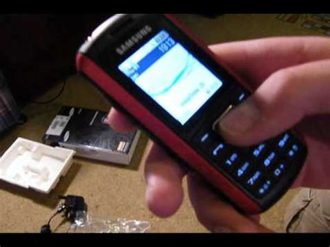 unboxing of samsung b2100
