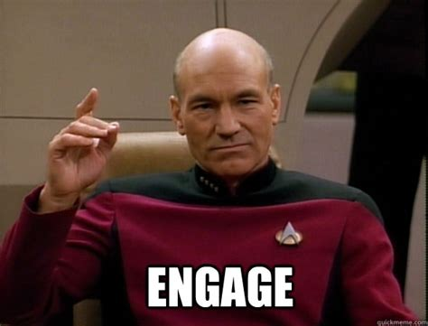 Picard Meme - make it rain number one jean luc picard like a boss