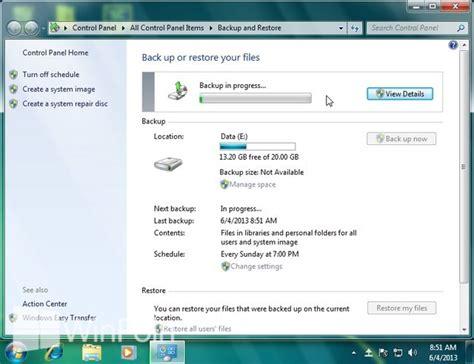 cara format ebook windows 7 cara melakukan backup secara otomatis di windows 7 winpoin