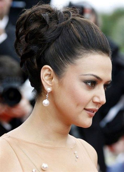 Hairstyles For 40 Indian by The Gallery For Gt Indian Bun Hairstyles For