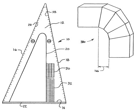 Layout Join Tool | patent us7073240 duct joint layout tool google patents