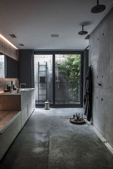 concrete bathrooms best 25 concrete bathroom ideas on pinterest cement