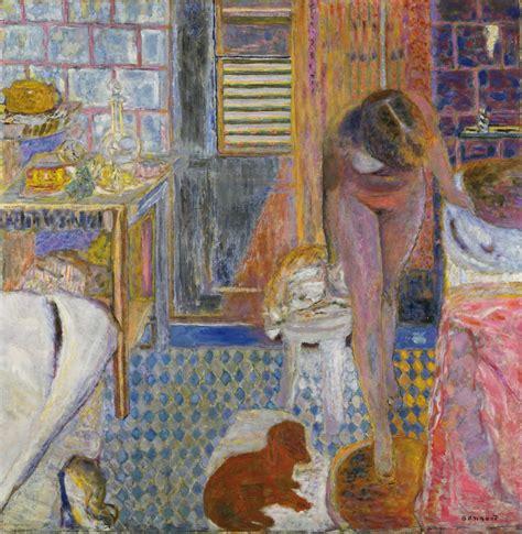 paintings for the bathroom pierre bonnard the bathroom 1932 the artist s own bath