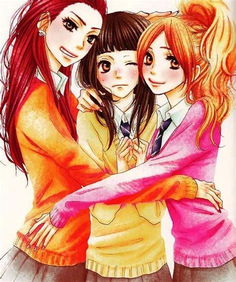 3 Anime Best Friends by Aiko Mei And Asami Sukii Tte Ii Na Yo Anime
