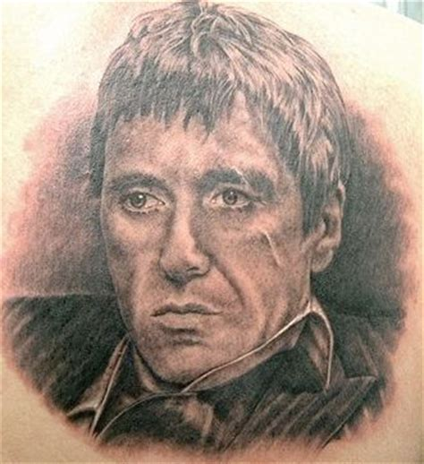 scarface tattoo designs shane o neill gallery the al pacino