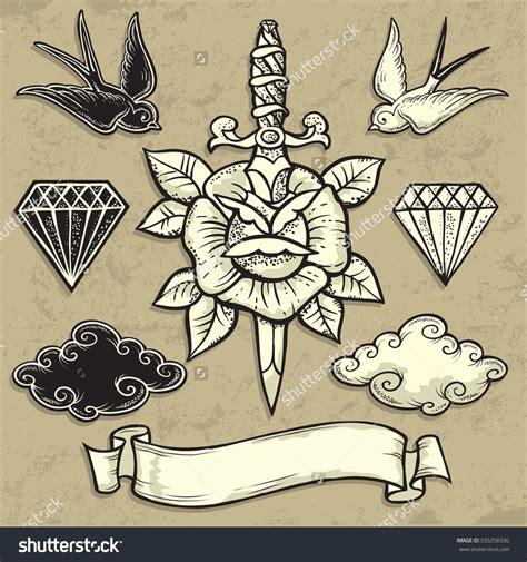 old school hand tattoo designs znalezione obrazy dla zapytania traditional