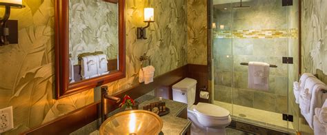 bathroom at the 2 bedroom suite at the residence inn two bedroom suite aulani hawaii resort spa