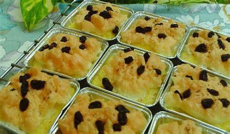 variasi membuat roti bakar resep puding roti tawar kukus keju kismis