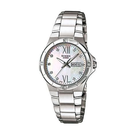 Jam Tangan Casio Wanita Sheen jual casio sheen she 4022d 7a jam tangan wanita harga kualitas terjamin blibli