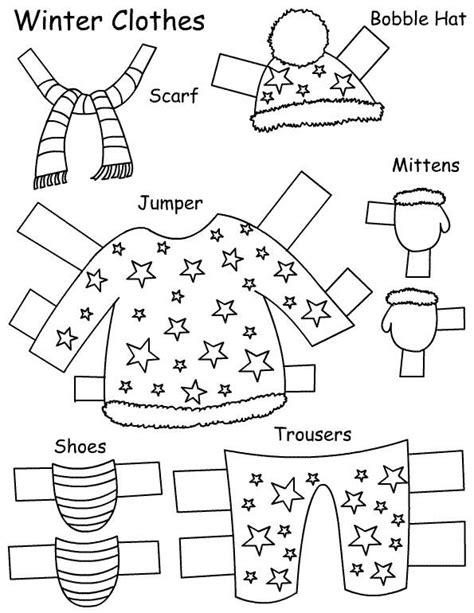 imagenes de ropa de invierno y verano dibujo recortable fimbles chiquitina 04 ropa invierno
