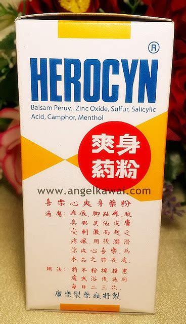 Herocyn 150 Gr Bedak Gatal angelkawai s diary atasi biang keringat gatal