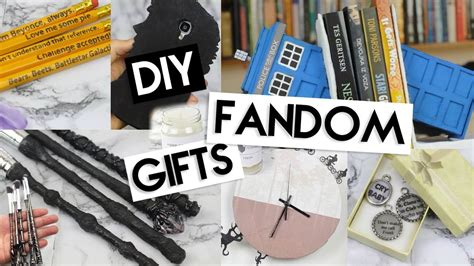 birthday gifts for harry potter fans diy last minute fandom gifts youtube