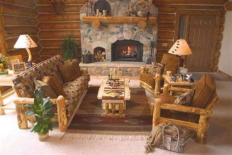 log cabin living room furniture rustic log living room furniture log glider aspen log