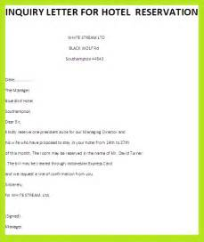 Reservation Letter By Email Inquiry Letter Erd For Hotel Reservation Systembusiness Letter Exles Business Letter Exles