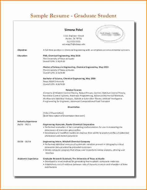 resume sles for phd student 10 graduate student resume invoice template