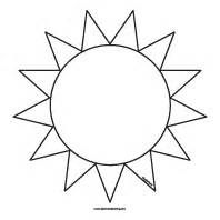 Template Of A Sun by Sun Template At Lakeshore Learning