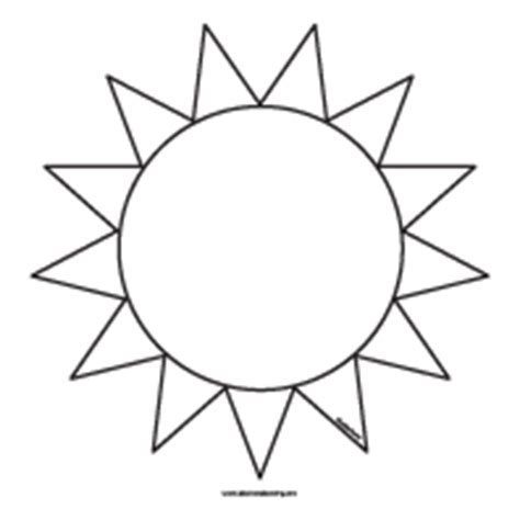 sun flower template 7 best images of free printable sun cut out templates