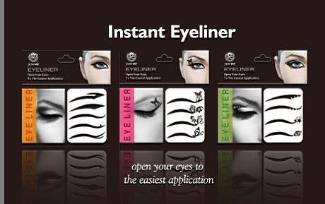 Sabun Telur Qiansoto sticker eyeliner gaga dari di makeup kosmetik