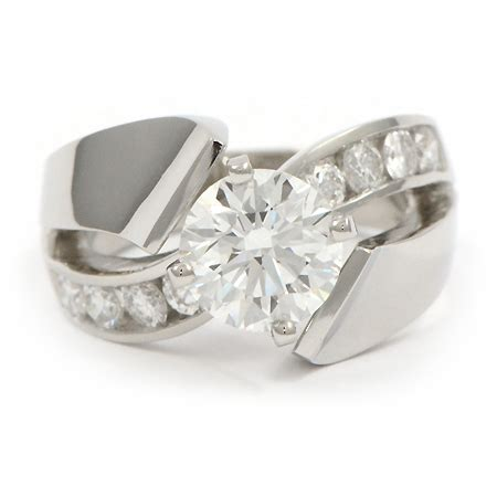 Contemporary Engagement Rings by Contemporary Engagement Rings Jewelry