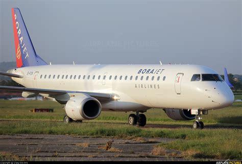 Bor Jet ei fcn bora jet airlines embraer erj 190 190 100 at exeter photo id 403320 airplane