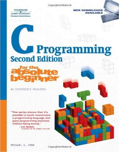 c programming for absolute beginners books c programming for the absolute beginner 2nd edition pdf