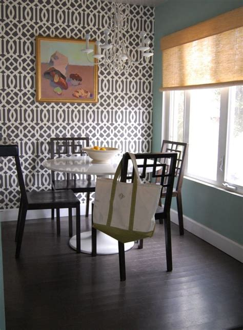 wallpaper accent wall dining room 5 stylish trendy updated wallpaper patterns