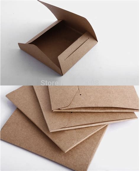 How To Make A Cd Sleeve From Paper - aliexpress buy 20 pcs quality kraft paper cd