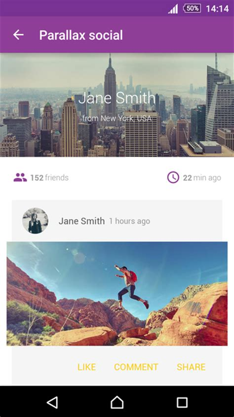 themes for android ui material design ui android template app by creativeform