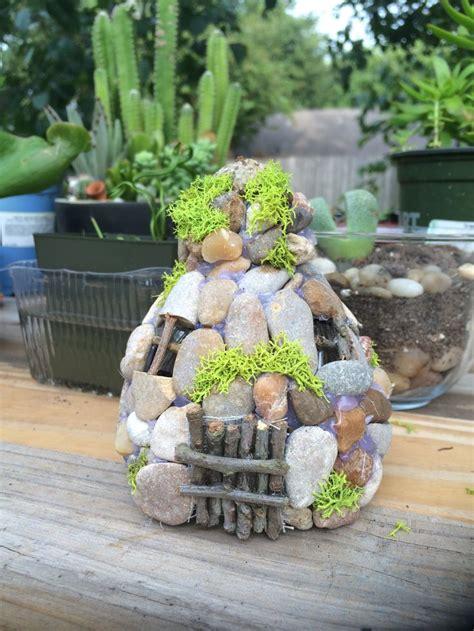 gardening using plastic bottles eylf pinterest view image fairy garden house made from plastic water bottle pebbles