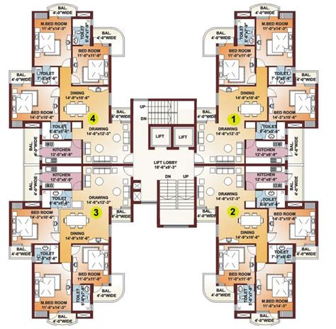 residential building floor plans high rise residential floor plan google search great