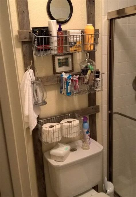 Reclaimed Bathroom Caddy Hometalk