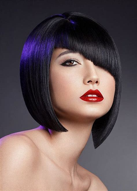geometrical bob haircut trendy short hairstyles 2013 short hairstyles 2017