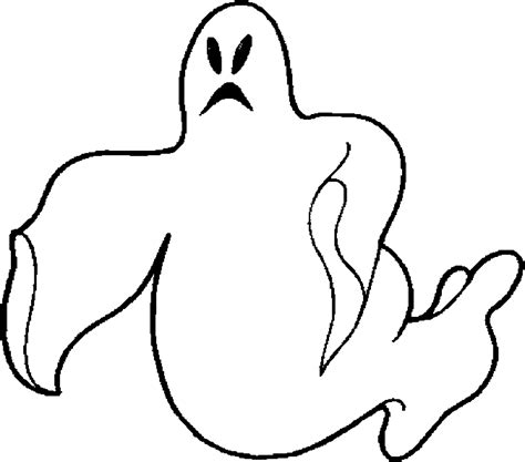 Free Coloring Pages Of Halloween Ghosts Ghost Color Page