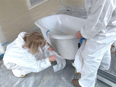 how to reglaze a bathtub how to reglaze a clawfoot tub how tos diy
