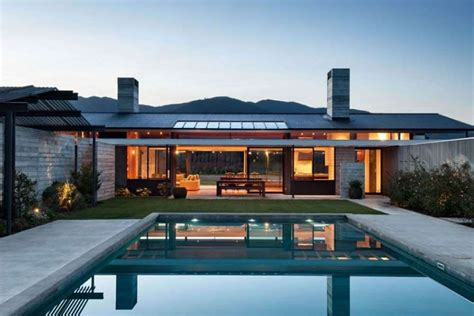 modern style house 16 most popular roof types