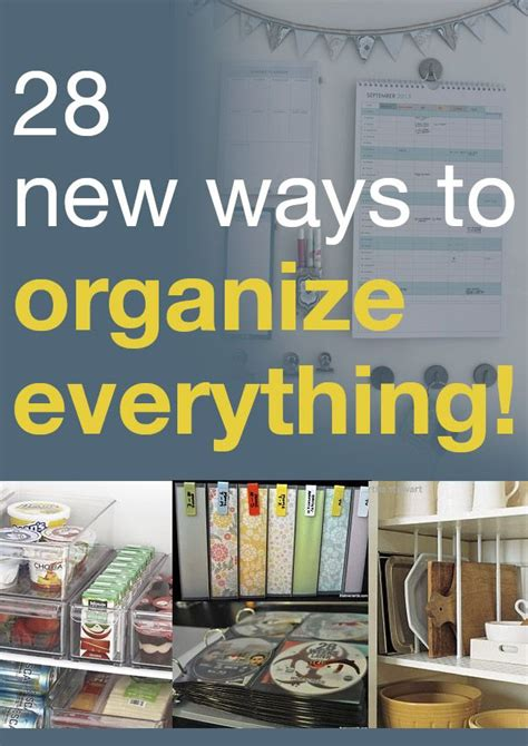 11 ways to have an organized kitchen organizing made fun 11 ways to have an organized kitchen 28 new ways to organize everything
