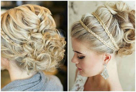 Wedding Hairstyles Hair Part Up Part by 5 Gorgeous Updos For Your Bridal Azazie