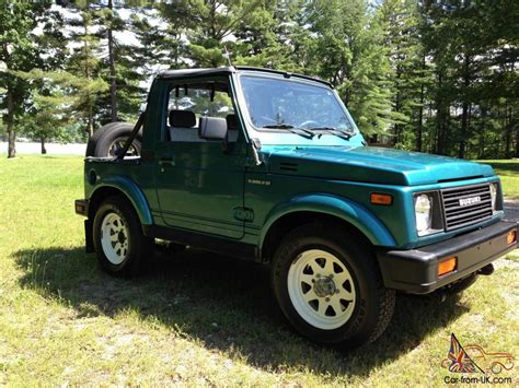1987 Suzuki Samurai For Sale 1987 Suzuki Samurai 17k One Owner