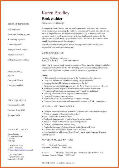 Example Resume Templates by 6 Professional Curriculum Vitae Format Sample Budget