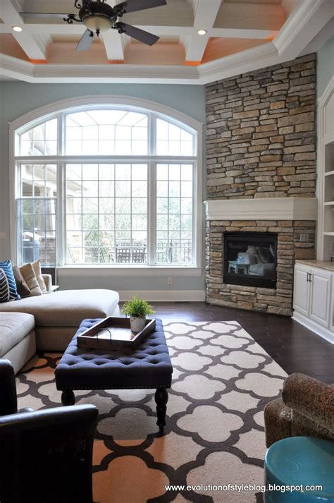 diy living room rug diy fireplace reveal for real evolution of style