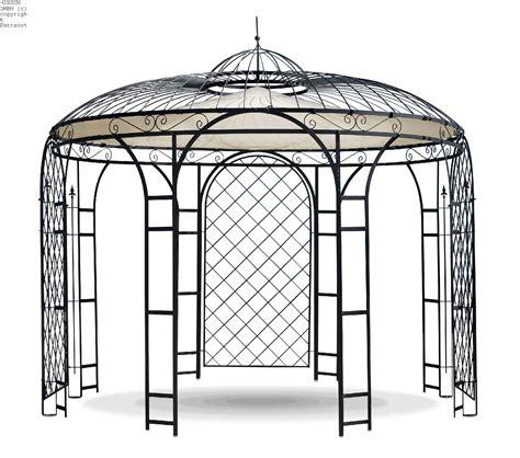pavillon edelrost terracottashop de za1002br140 rosenbogen