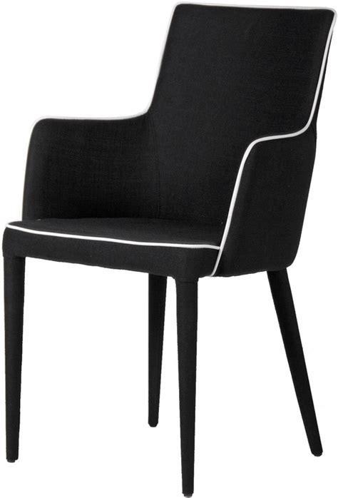 black and white upholstered dining chair dining chairs