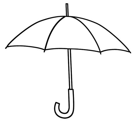 umbrella template printable cliparts co