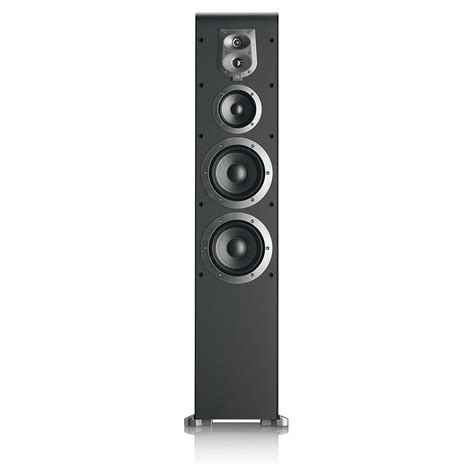 Speaker Power Up S08 jbl es80bk 4 way dual 170mm 6 inch floorstanding speaker black home audio theater