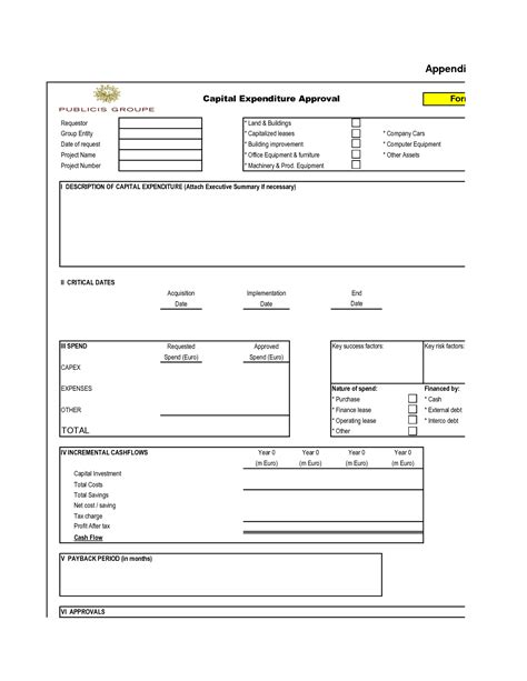 policy approval form template best photos of approved for expenditure form budget