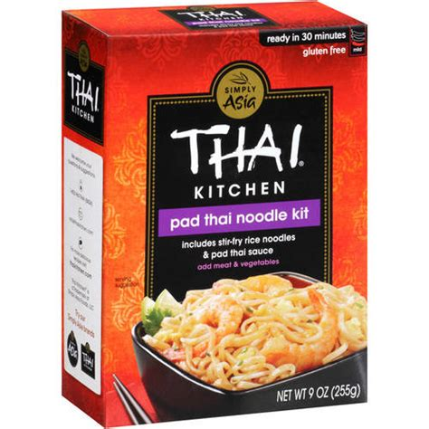 Thai Kitchen Of by Thai Kitchen Pad Thai Noodles Sauce 9 Oz Walmart