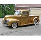 1940 Ford Pickup Of George Poteet By FastLane Rod Shop  Red Wheels